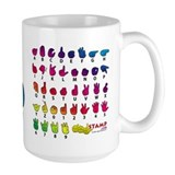 Got ASL? Rainbow SQ Mug