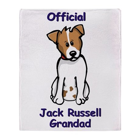 JR Grandad Throw Blanket