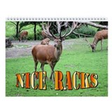 Nice Racks Wall Calendar (Deer, Elk & Moose)