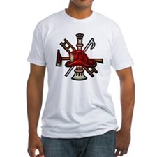 Shirt Firefighter Graphic Symbols