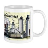 Great Lakes Lighthouses Coffee Mug
