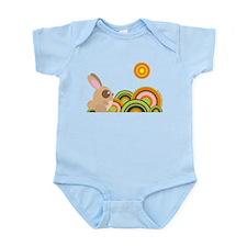 """Woodland Bunny"" Infant Bodysuit"