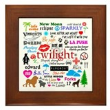 Twilight Memories Framed Tile