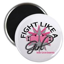 Fight Like A Girl Breast Cancer Magnet