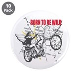 "Bikers 3.5"" Button (10 pack)"