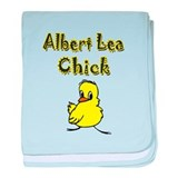 Albert Lea Chick baby blanket