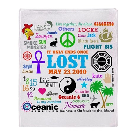 LOST Memories Throw Blanket