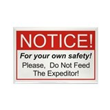 Notice / Expeditors Rectangle Magnet (10 pack)