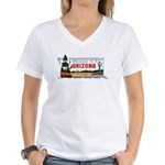 Welcome To Arizona Women's V-Neck T-Shirt