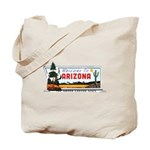 Welcome To Arizona Tote Bag