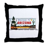 Welcome To Arizona Throw Pillow