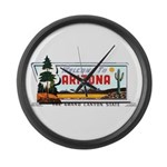 Welcome To Arizona Large Wall Clock