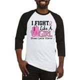 Fight Like A Girl Breast Cancer Baseball Jersey