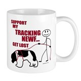 Landseer Tracking Small Mug