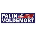 Palin-Voldemort 2012 Bumper Sticker