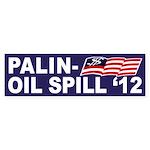 Palin-Oil Spill 2012 bumper sticker