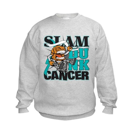 Slam Dunk Cervical Cancer Kids Sweatshirt