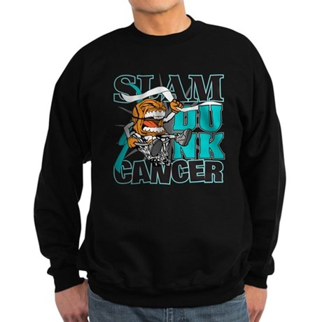 Slam Dunk Cervical Cancer Sweatshirt (dark)