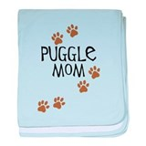 Puggle Mom baby blanket
