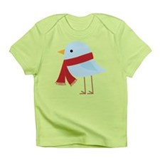 Blue Bird with Scarf Infant T-Shirt