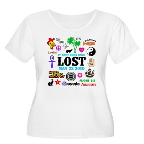 LOST Memories V2 Women's Plus Size Scoop Neck T-Sh