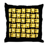 Kwanzaa Mat Throw Pillow