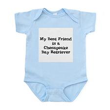My Best Friend is a Chesapeak Infant Creeper