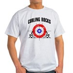 Curling Rocks! Light T-Shirt