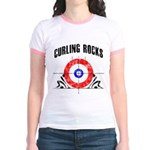Curling Rocks! Jr. Ringer T-Shirt