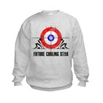 Future Curling Star Kids Sweatshirt