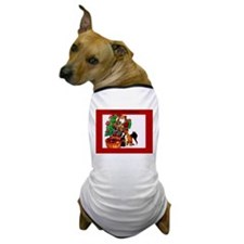 Basenji Christmas Dog T-Shirt