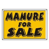 Manure Sale Banner