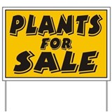 Plants sale Yard Sign