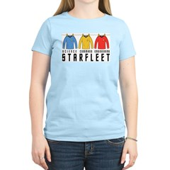 Starfleet Uniforms Women's Light T-Shirt