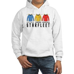 Starfleet Uniforms Hooded Sweatshirt