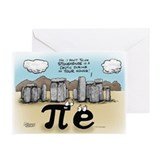 Pi at Stonehenge Greeting Cards (Pk of 20)