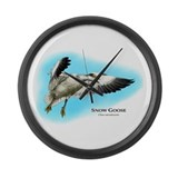 Snow Goose Large Wall Clock