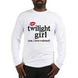 Twilight Girl Lips Long Sleeve T-Shirt