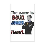 The Name's James Baud Mini Poster Print