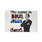 The Name's James Baud Rectangle Magnet (100 pack)