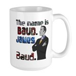 The Name's James Baud Large Mug