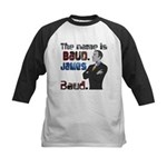 The Name's James Baud Kids Baseball Jersey