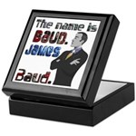 The Name's James Baud Keepsake Box