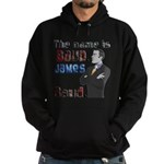 The Name's James Baud Hoodie (dark)
