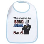 The Name's James Baud Bib