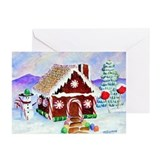 Unique Candy house Greeting Cards (Pk of 10)