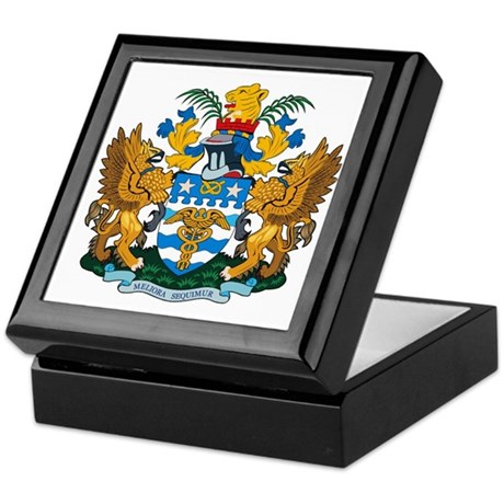 Brisbane Coat of Arms Keepsake Box