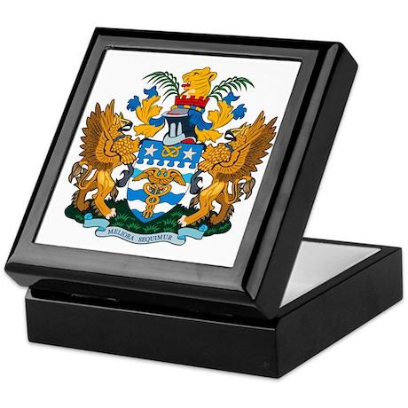 Brisbane Coat of Arms Keepsake Box