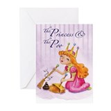 """Princess"" Greeting Cards (Pk of 10)"