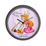"""The Princess and The Poo"" Wall Clock"
